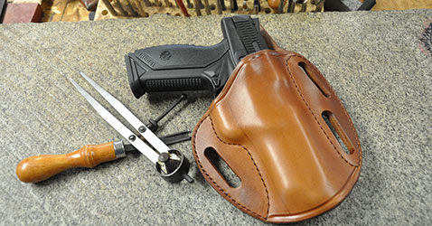 A Simply Rugged Holster for the Ruger American Pistol