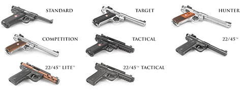 Ruger Adds Mark IV Tactical And Two Mark IV Standard