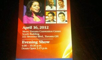 Oprah's LifeClass–The Toronto Edition