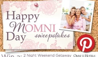 Omin Hotels & Happy MOMNI Day Sweepstakes