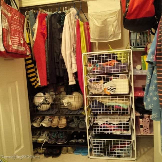 MyBenjamin Moore Home closet2 DownshiftingPRO Blog