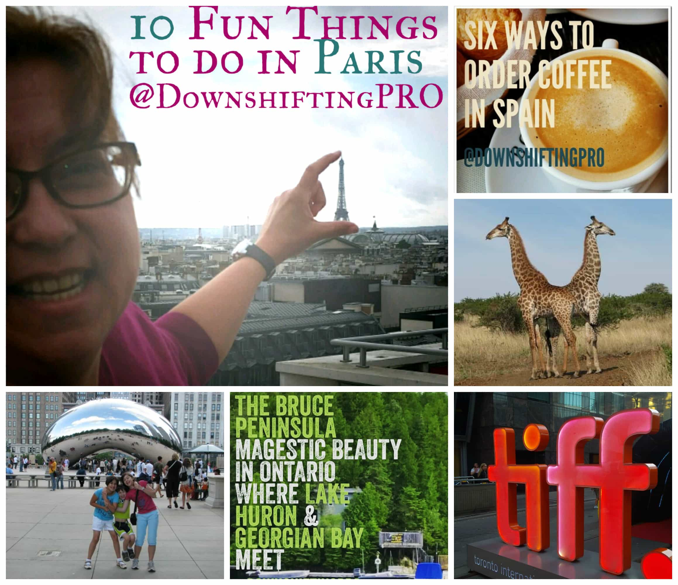 About Me @DownshiftingPRO blogger, traveler, writer