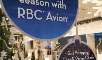 RBC Avion Holiday Boutique at Yorkdale and Square One Centre in Toronto–#AvionVIP treatment