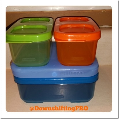 Rubbermaid LunchBlox Review @DownshiftingPRO