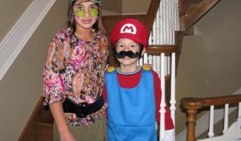 Wordless Wednesday–Mario & Luigi Costume Ideas