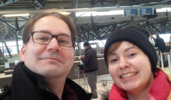 Wordless Wednesday – Father – Daughter Reunion.