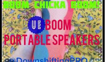 BOOM Chicka BOOM UE (Ultimate Ears) Boom Wireless Bluetooth Speakers Review #Tech