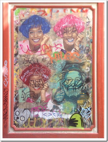 Grafitti Tour Barcelona @DownshiftingPRO_Whitney Houston