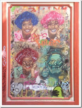 Grafitti Tour Barcelona @DownshiftingPRO_Whitney Houston