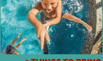 5 Things to Bring to a Pool Playdate– Food, Drinks + your @GoPro @BestBuy #GoProatBestBuy