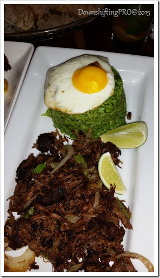 Havana Central Restaurant Review Time Square NYC @DownshiftingPRO_Shredded Beef