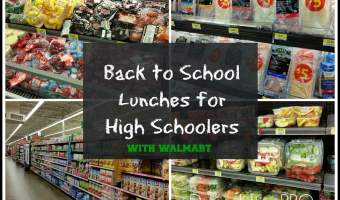 Back to School Lunches for your High Schoolers #CollectiveBias #ad