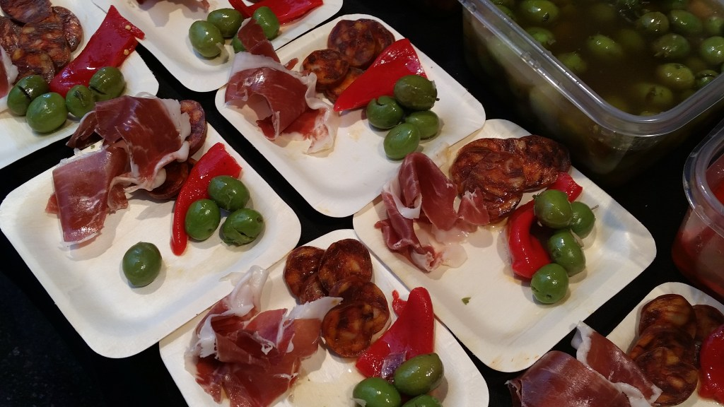 Tapas from Lola and Miguel at the Toronto Food and Wine Festival