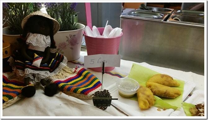 Lloret de Mar, Spain - Food Truck & Caravan Food Festival - Colombian Empanadas