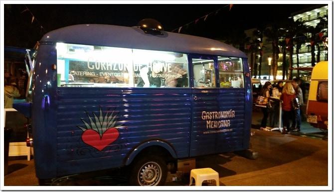 Lloret de Mar, Spain - Food Truck & Caravan Food Festival - Mexican Food Truck