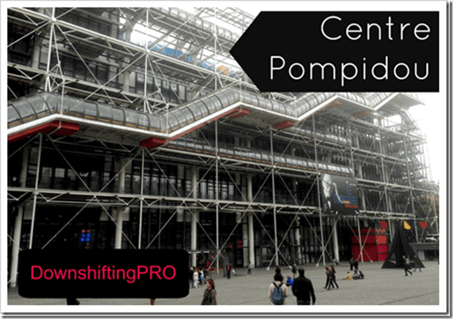 The Ultimate Tour - DownshiftingPRO - Pompidou