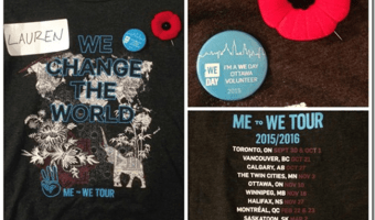 Revisiting We Day–That would be me and TRH Justin Trudeau! #MetoWe #WeDay #Ottawa