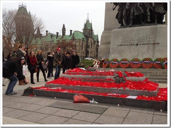 Rememberance Day Ottawa 2015 - @DownshiftingPRO