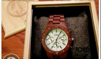 A Unique Gift for Him or Her–Stylish Jord Wood Watch #productreview #GiftGuide