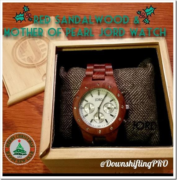 JORD Wood Watch_Sidney_ @DownshiftingPRO