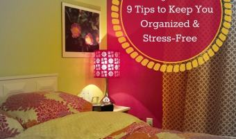 Make Your Bed! and 9 Tips to Keep Organized and Stress-Free 4M