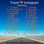 Travel Instagram Challenge–#TravellingMaple #TravelTuesday
