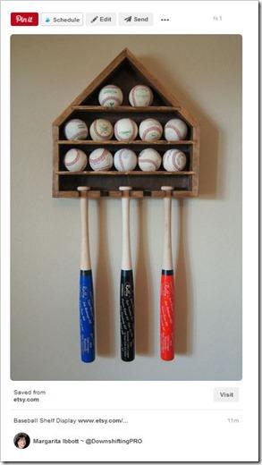 Sports Equipment Organization_Baseball Bats and Balls