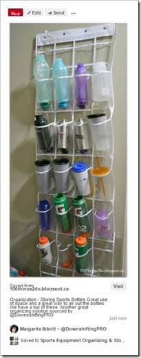 Sports Equipment Organization_Water Bottles