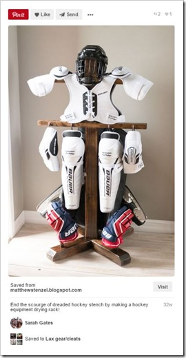 Sports Equipment Organization_hockey Rack