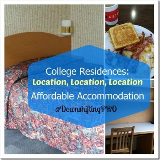Student Residences and Dorms as Affordable Accommodations @DownshiftingPRO