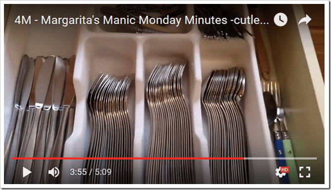 Cutlery Organizing in Your Kitchen @DownshiftingPRO