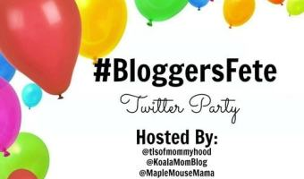 BloggersFete 2016 begins August 1 and you're invited to a Twitter Party #BloggersFete