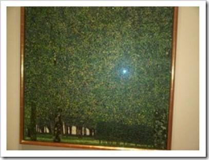 The Park Gustav Klimt in the MoMA, New York City