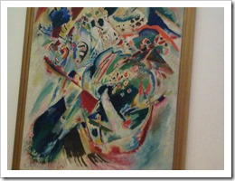 Kandinsky in the MoMA, New York City