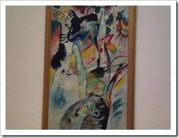 Kandinsky in the MoMA, New York City