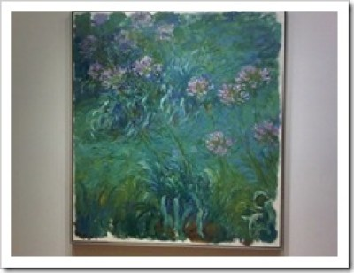 Agapanthus by Claude Monet in the MoMA, New York City