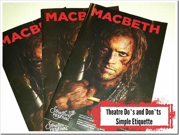 Theatre Dos and Don'ts Simple Ettiquette @DownshiftingPRO