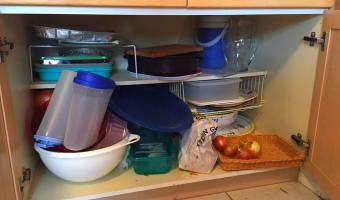 4M – Margarita's Manic Monday Minutes–Kitchen Cupboard Clean-up