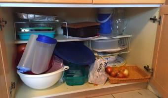 4M – Margarita's Manic Monday Minutes–Kitchen Cupboard Clean-up