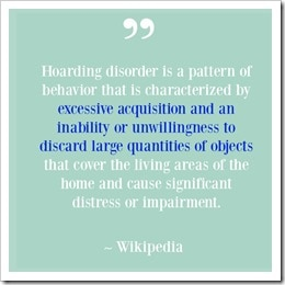 Hoarding Disorder Quote