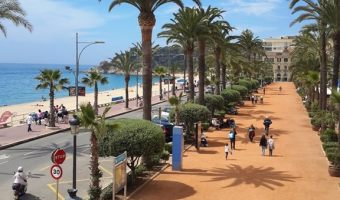 The Maritime Museum & Town Hall Plaza in Lloret de Mar, Costa Brava, Spain #TBEX #TBT #ad