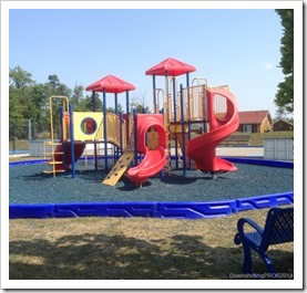 Playground at Lake of Wasaga Parkbridge Resort #ParkbridgeLife