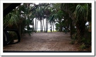 Waterfront Campsites at Fort Da Soto Florida State Park @DownshiftingPRO Kayak in Florida