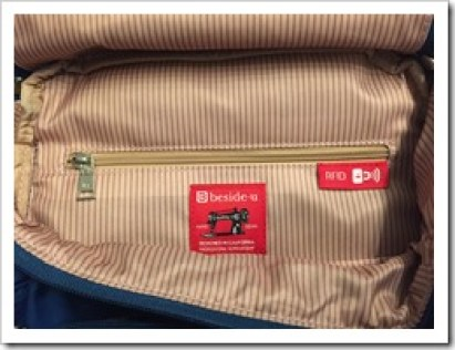 Beside-U Review for bags & backpacks RFID protected - @DownshiftingPRO (18)