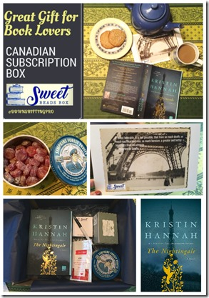 Great Gift for Book Lovers Canadian Subscription Box Sweet Reads Box[3]