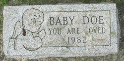 Baby Doe gravestone