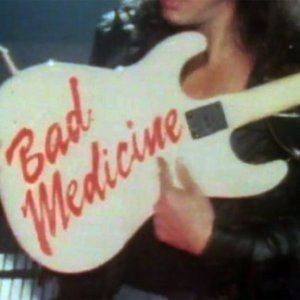 """Still from Bon Jovi's """"Bad Medicine"""" video"""