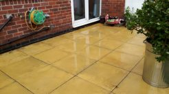Finished - how much different does that look?! The patio has been given a new lease of life with a full power wash.