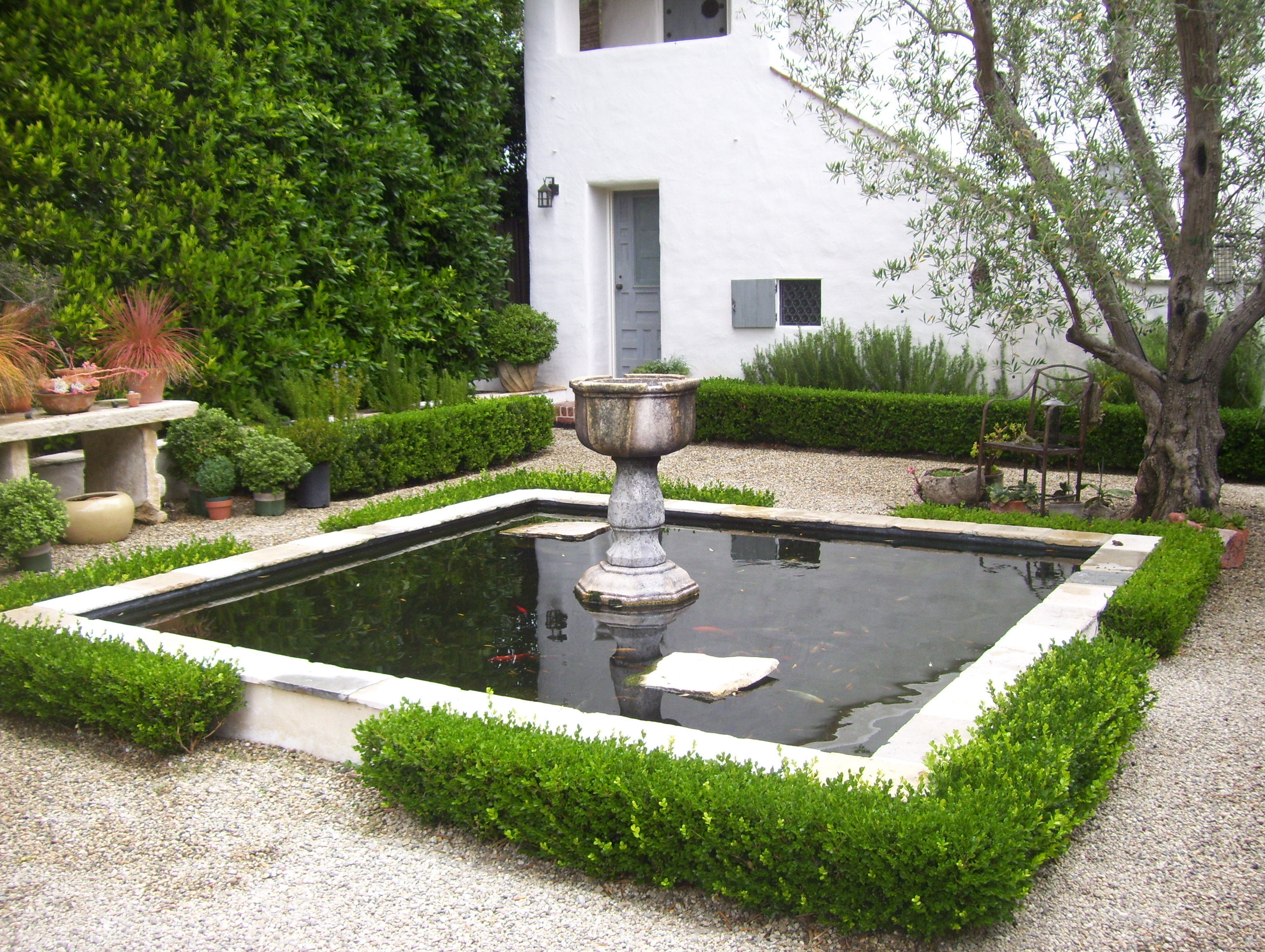 Water Feature Ideas for Santa Barbara Landscapes ... on Small Backyard Water Features id=85077