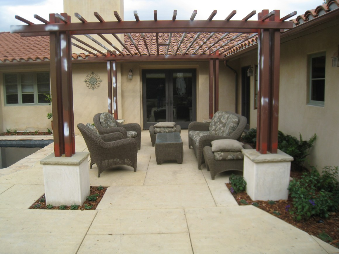 backyard patio ideas in santa barbara | outdoor kitchens